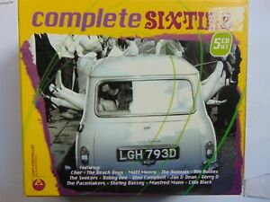 Complete Sixties - Various Artists - 5 CD box set - FREE POST