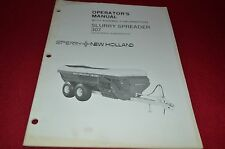 New Holland 307 Slurry Spreader Operator's Manual Dcpa8