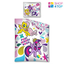 MY LITTLE PONY ROCK DASH SINGLE DUVET SET COVER QUILT BEDDING KIDS CHILDREN NEW