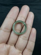 Natural  Grade A  Jadiete  Jade ring stone carving  Size 6.75  A7148