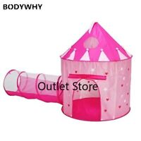 Children Play Tent Baby Crawling Tunnel  Foldable Kids Outdoor Indoor Game House