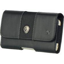 Horizontal Leather Cell Phone Pouch Case Belt Clip Holster For iPhone 11 Pro Max