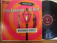 CRL 57389 Pete Fountain & Al Hirt - Bourbon Street - LP