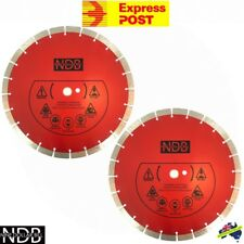 "2X 14"" 356mm Premium Diamond Saw Blade Demo Concrete Masonry Brick Tile FASTPOST"