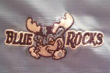 WILMINGTON BLUE ROCKS POLO SHIRT - MINOR LEAGUE BASEBALL - LIGHT BLUE
