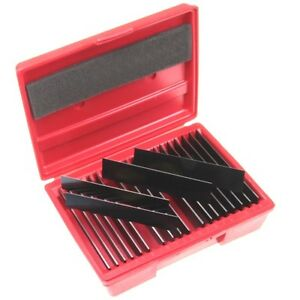"""20 Pair (40) PARALLEL ULTRA THIN 1/32""""  SET Precision Machinist Tools in Case"""