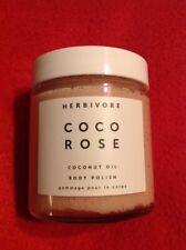 HERBIVORE Coco Rose Coconut Oil Body Polish Exfoliating Scrub 112g - Travel Size