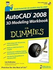 AutoCAD 2008 3D Modeling Workbook For Dummies (For Dummies-ExLibrary