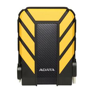 ADATA HD710 Pro Yellow External HDD 1TB IP68 Waterproof Shockproof Hard Drive