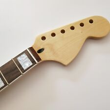 Electric Guitar Neck Maple  22 Fret for ST style big headstock block inlays