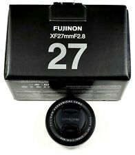Fujifilm FUJINON XF27mm F2.8 (very little use, mint)