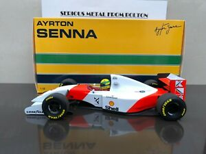 MINICHAMPS 540931878 MCLAREN MP4/8 #8 AYRTON SENNA WINNER JAPANESE GP 1993 1:18