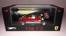 Hotwheels Elite F1 Ferrari 126 C2 Gilles Villeneuve 1/43 San Marino GP 1982