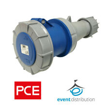 PCE 63 AMP 2P+E 3 Pin 230V/240V IP67 Rated Trailing Socket Female 63A Waterproof