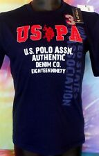 U.S. Polo Assn. Polo Club USPA Boys Blue's T-Shirt Size M(10-12)