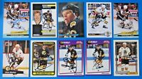 LOT OF 10 GLEN WESLEY SIGNED HOCKEY CARDS ~ 100% GUARANTEE