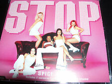 The Spice girls Stop Australian CD Single Feat 3 Live Trks Recorded In Istanbul