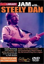 Lick Library Learn To Play Jam con Steely Dan Kid Charlemagne Josie Guitarra Dvd