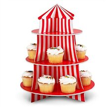 Circus Tent CUPCAKE STAND Holder CARNIVAL PARTY PROP Decoration