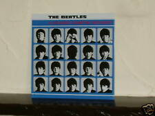 Large Plaque The Beatles Hard Days Night Metal Sign Man Cave A Nice Gift