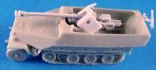 Milicast BG024 1/76 Resin WWII German Sd.Kfz.251/22 Ausf. D 75mm PaK40