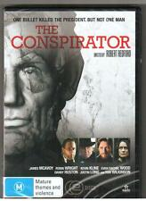 2 DVD SET THE CONSPIRATOR R4 New James McAvoy Evan Rachel Wood Robin Wright