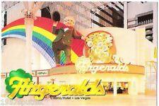 Fitzgeralds closed Las Vegas Hotel Casino postcard UNUSED Fremont Street Fitz  b