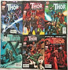 THOR#80-85 VF/NM LOT 2004 'RAGNAROK' MARVEL COMICS