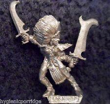 1994 Elfo Oscuro Strega 2 CITTADELLA Marauder dell'esercito degli elfi Drow Warrior WARHAMMER AD&D GW