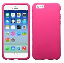 """Hot Pink Solid Silicone Skin Cover (Hot Pink) for iPhone 6 4.7"""""""