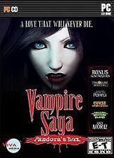 BRAND NEW Sealed Vampire Saga: Pandora's Box Bonus Edition (PC, 2010)