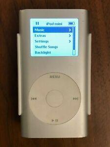 4GB Apple iPod Mini 1st Generation w/ Clip A1051  (M9160LL)