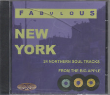 FABULOUS NEW YORK Various Artists NEW & SEALED NORTHERN SOUL CD (GOLDMINE)