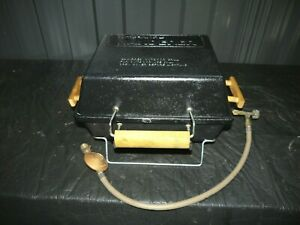 RARE Vintage COMPANION wanderer Hibachi Gas Charcoal BBQ Smoker Portable Grill