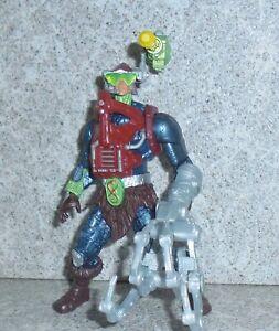 Motu Serpent Piste Mekaneck Complet 2002 200x Masters De Univers He-Man