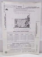 Sams Photofact Folder Radio Parts Manual Sharp Remote Control Receiver 701406