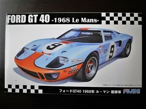 Reasonable ! Fujimi 1/24 FORD GT40 '68 Le Mans 24h Winner Spotless & New !