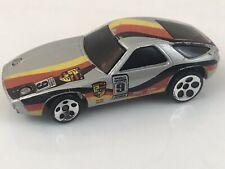 Hot Wheels Porsche 928 1978 Sports Car Silver Fast Ship
