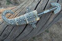 Antique Vintage  dagger Khanjar Knife Yemeni Blade Sword Handmade Blade