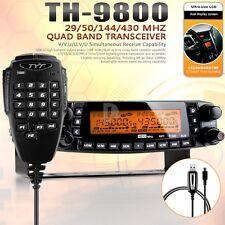 TYT TH-9800 Plus Quad Band Dual Display Repeater Car Truck Ham Radio 809CH DHL