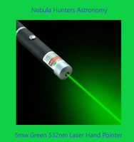 Astronomy 5mw Laser Green 532nm Pointer New!/ For Orion/Celestron/ Office Use