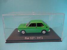 FIAT 127 SEAT - VERDE GREEN - TAPA DE METACRILATO - 1972  1/43 NUEVO NEW IXO RBA