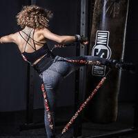300LB Boxing Taekwondo Jump Resistance Bands Set Leg Arm Strength Training