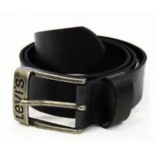 Cinturones de hombre en color principal negro de piel talla 90