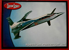 CAPTAIN SCARLET - Card #70 - Spectrum Passenger Jet - Cards Inc. 2001