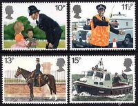 1979 150th Anniversary Metropolitan Police SG1100-3 Complete Set Unmounted Mint