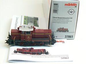 Diesellok Telex V60 DB digital mfx sound, Märklin H0 37861 neu