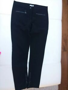Costume Nationale Black Trousers Sz 40 UK 10