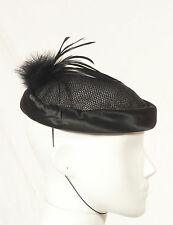 '80'S FRENCH VINTAGE COCKTAIL HAT 52 SIZE XS