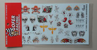 SKULLS & CROSSBONES 1:24 1:25 GOFER RACING DECALS CAR MODEL ACCESSORY 11063